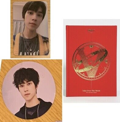 Hendery BRAND NEW NOT SEALED Wayv NEW Take Over The Moon Album+Photo card+Circle