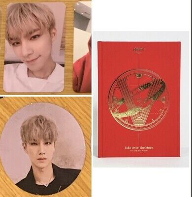 XIAOJUN BRAND NEW NOT SEALED Wayv NEW Take Over The Moon Album+Photo card+Circle