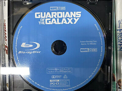 Guardians Of The Galaxy Marvel Blu-Ray Only Never Been Used Ship In Slim Cd Case