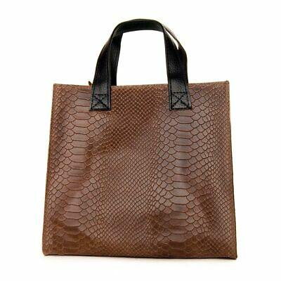 WOMAN BAG BROWN COLORED color BROWN size ST