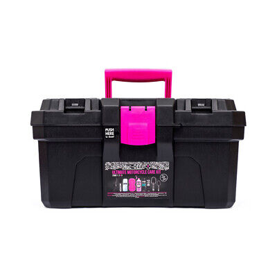 Muc-Off Ultimate Motorcycle Motorbike Cleaning Kit M285 Perfect Stocking Filler