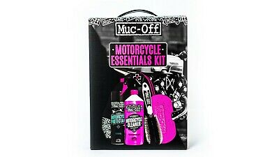 Muc-Off Motorcycle Motorbike Essential Cleaning Gift Kit Perfect Stocking Filler