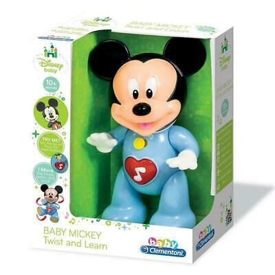 New Official Disney Baby Mickey Mouse Twist & Learn Musical Figure