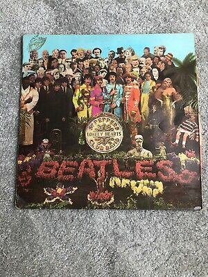 "BEATLES "" SGT PEPPERS LONELY HEARTS CLUB BAND "" VINYL ALBUM 1967 Original!"