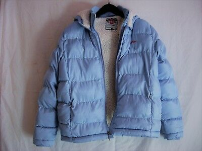 Lee Cooper Child's Padded Jacket in Pale Blue, age 13