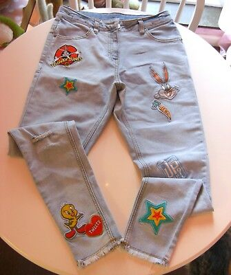 Girls (Luney Tunes) at Next Jeans, pale blue, size 13 years