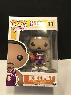 Funko Pop NBA Kobe Bryant #8 Rookie Jersey SDCC Exclusive Mint