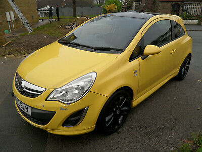2012 Vauxhall Corsa 1.2 Limited Edition 3Dr Damaged Repairable Salvage