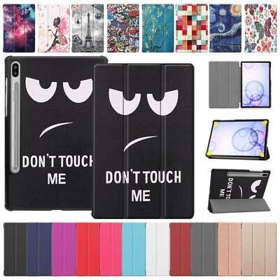 "For Samsung Galaxy Tab S6 10.5"" SM-T860 T865 Tablet Slim Flip Leather Case Cover"