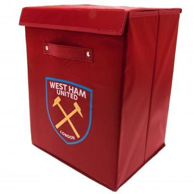 West Ham UTD FC Official Bedroom Storage Box/ Laundry Tidy