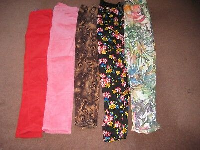 Bundle Girls Jeans/ Leggings/ Trousers Age 9-10 Next Etc