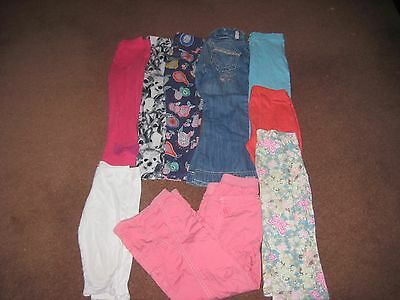 Bundle Girls Leggings/ Trousers Age 4-5 NEXT Etc