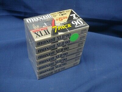 Maxell XLII 90   High Bias 7 Pack  New Sealed LQQK!!