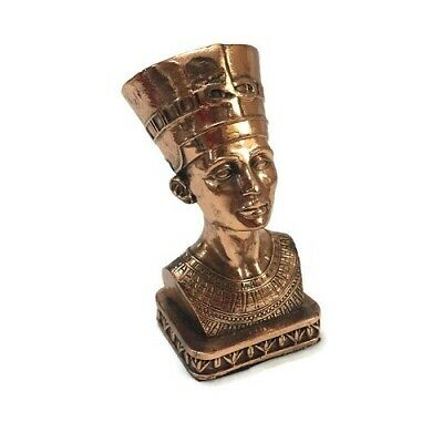 Ancient Egyptian Decorative Large Nefertiti Brass Pharaoh Figurine Statue New