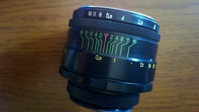 Antique camera lens USSR Helios 44-2 58 mm f/2 M42 Boke Lens for Canon Sony