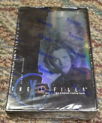 The X-Files - Season 4 & 5 - Sealed Trading Card Box New