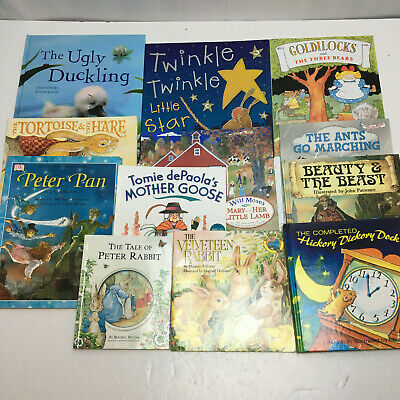 Childrens Nursery Rhyme Books ~ Bedtime Stories ~ Traditional Tales ~ Lot of 12!