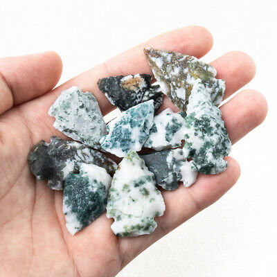Natural Agate Stone Crystal Quartz Specimen DIY Craft Handwork Jewelry Making