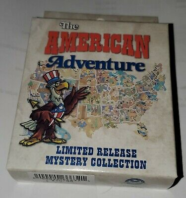 Disney Pins (2) The American Adventure Mystery Pin Collection LR FREE SHIP