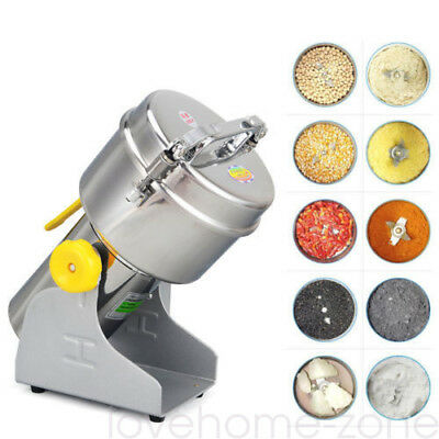 500g Electric Herb Grain Mill Grinder Household Cereal Flour Powder Grinding