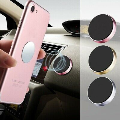 Car Phone Holder Mount Stand Universal Magnetic Magnet GPS PDA iPhone Samsung &
