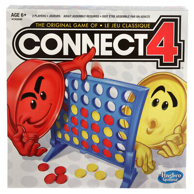 Connect 4 Classic Grid Board Game