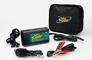 Battery charger for 12 Volt Cars Motorcycles Boats Four stage smart charging -b