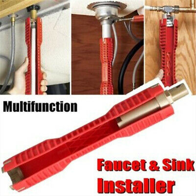 Multifunctional Hand Tools Install Tool Bathroom Pipe Wrench Faucets Spanner