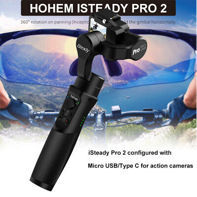 Hohem iSteady Pro 2 Handheld Stabilizer for SJCAM GoPro Hero DJI Action Camera