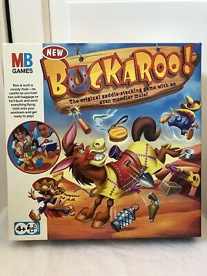Buckaroo Board Game With Instructions- Complete