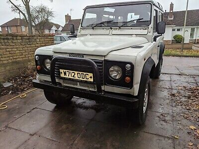 2000 Land Rover Defender 90 TD5 98k MOT September 2020
