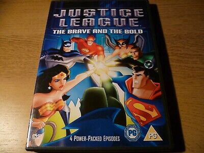 Justice League The Brave And The Bold DVD
