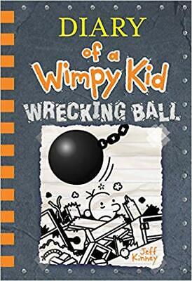 Wrecking Ball Diary of a Wimpy Kid Book 14 JEFF KINNEY HARDCOVER