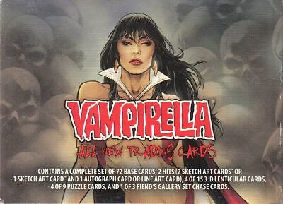Vampirella All New 2012 Breygent Complete Factory Card Set Of 72 No Inserts
