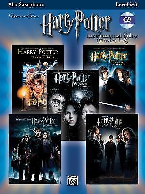 Harry Potter Sheet Music Alto Sax - Hedwig, Fawkes, Double Trouble, More!