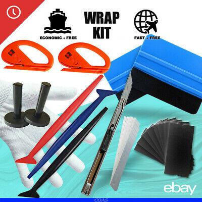 NEW Car Vinyl Wrapping Tools 3M Squeegee Micro Tuck Tool Gasket Wrap Applicator