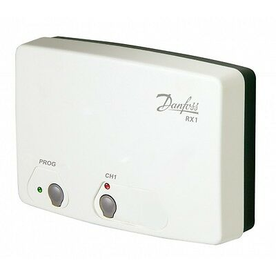 Danfoss RX1 Radio Frequency RF Single Channel Receiver for Wireless Thermostat i
