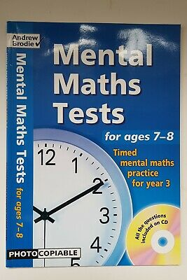 Ks2 - 10 Timed Mental Maths Tests With Cd – Age 7-8 (Year 3) – Andrew Brodie