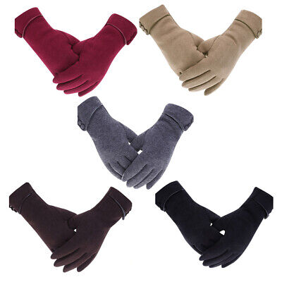Ladies Womens Warm Winter Gloves Touch Screen Windproof Lined Thick Christmas US