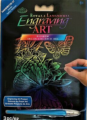Royal /& Langnickel Engrave /& Learn Wildlife of the World Designed Painting Set