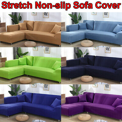 Non-slip High Stretch Sofa Cover Couch Lounge Covers Slipcover for Living Room