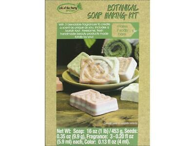 Life Of The Party Ltp57035  Life Party Soap Making Kit Botanical Bar