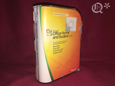 Microsoft Office 2007 Home and Student with Product Key