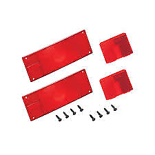 """WESBAR Tail Lamp Replacement Lens Set - Over 80"""" Low Profile 102641 #403336"""