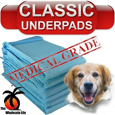 300 Dog Puppy Pads 17x24 Training Wee Wee Chux Pee Potty Housebreaking Underpads