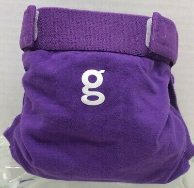 Gdiapers Small Gurple Purple Gpants & Pouch Euc