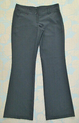 Girls Ladies Size 10 - New Look - Black Smart Work School Trousers