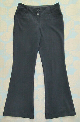 New Look - Girls Ladies Size 10 - Black Smart Work School Trousers