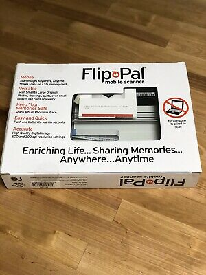 Flip Pal Scanner Scan Your Photos and Embroider Them Scan Embroidery NIP