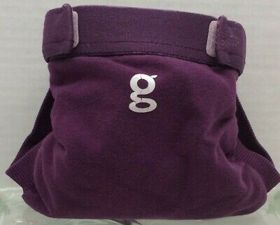 Gdiapers Small Grecian Purple Gpants & New Pouch Euc